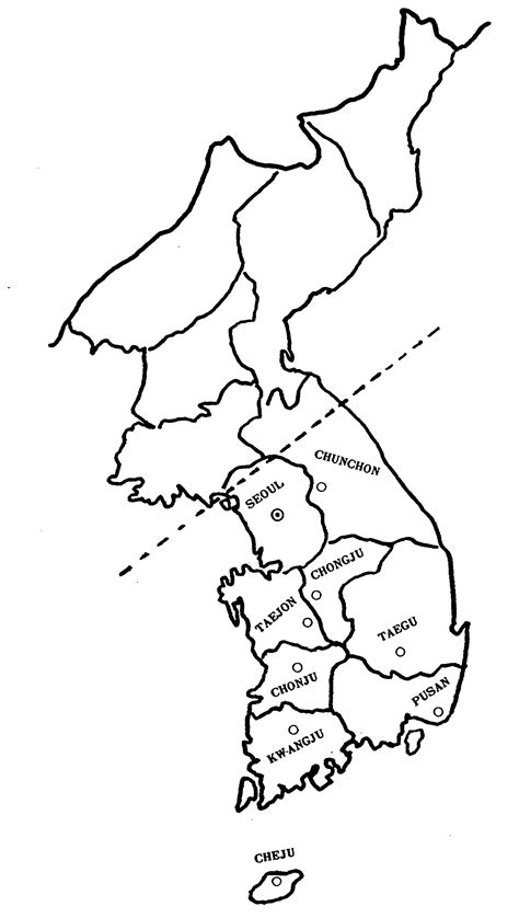 korea map coloring page korea map free coloring pages