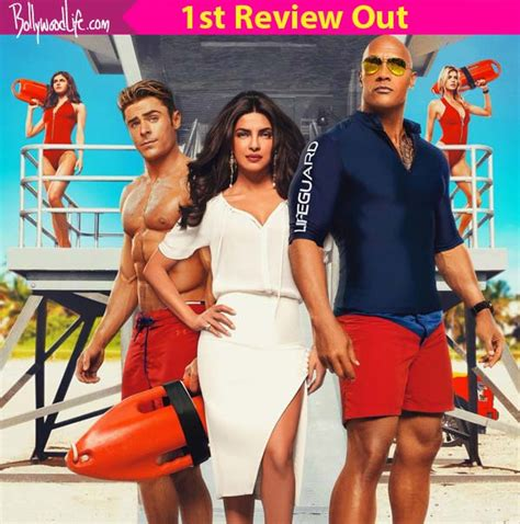 priyanka chopra hollywood movie action the first movie review for baywatch is out priyanka