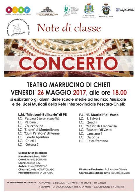 ufficio scolastico provinciale di chieti chieti concerto orchestra giovanile interprovinciale