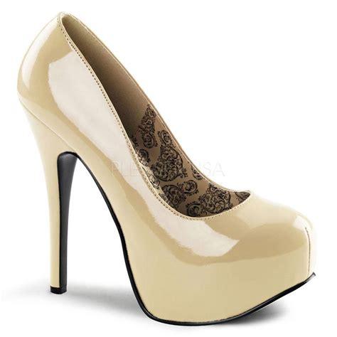 bordello shoes bordello shoes teeze 06 patent platform pumps