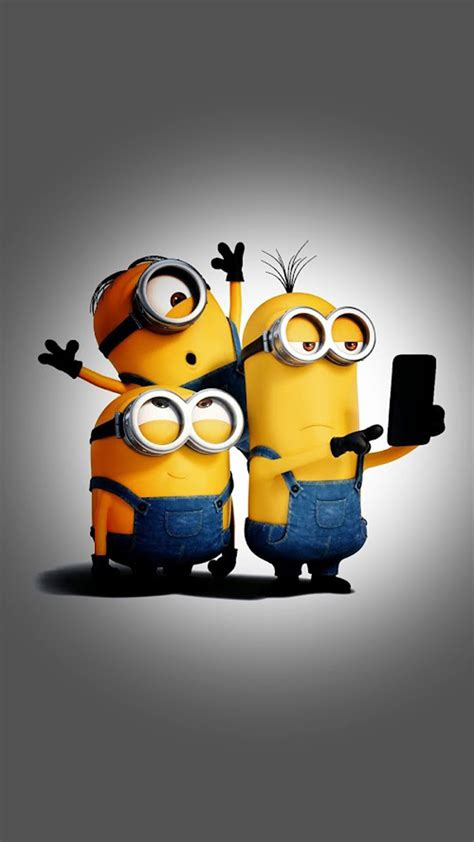 Minion Wallpaper For Phone minions selfie time
