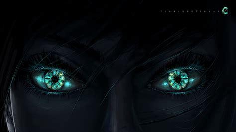 dark green eyes full hd wallpaper
