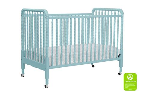 Lind 3 In 1 Convertible Crib by Lind 3 In 1 Convertible Crib In Lagoon Teal