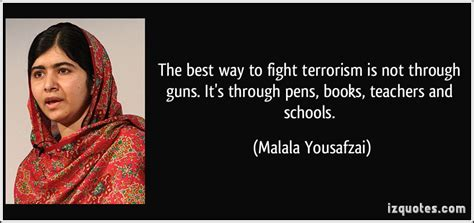 Ways To End A Fight 2 by Malala Yousafzai Quotes Quotesgram