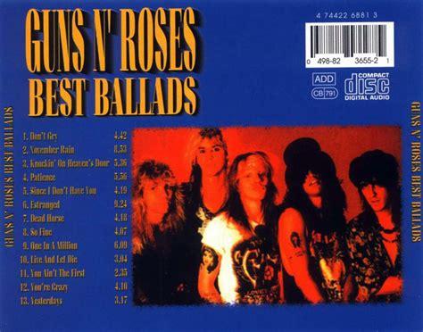 guns n roses best of guns n roses limited edition car 225 tula trasera de best ballads de guns n roses