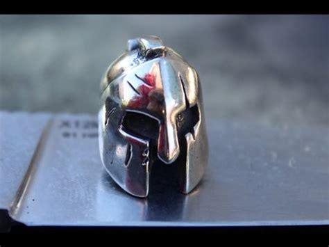 karboffos molon labe spartan helmet bead