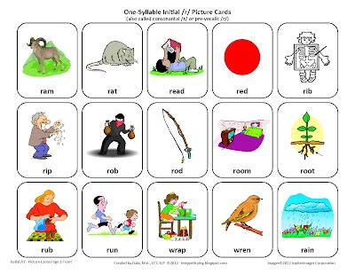 picture cards testy yet trying initial r free speech therapy