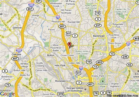 atlanta ga on us map map of regency suites atlanta