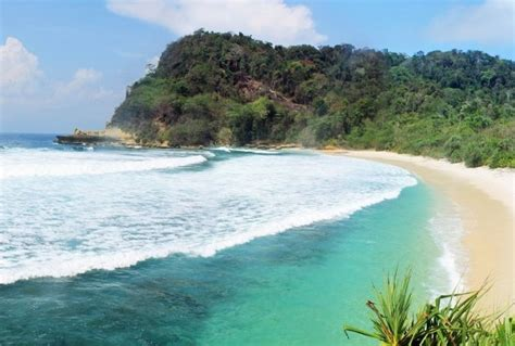 gambar foto keindahan laut  pantai coro wisataunikcom