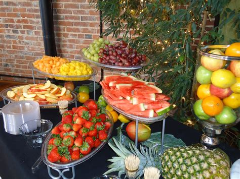 My Baby Set Fresh Fruity fruit display it s your event and wedding