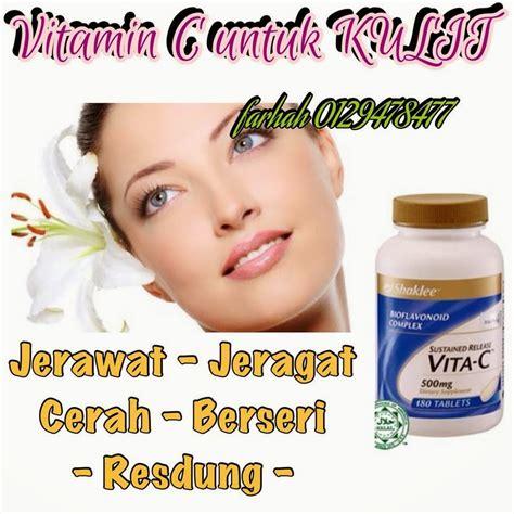 Vitamin Shaklee kulit cantik dengan vitamin c shaklee mamaworld collections
