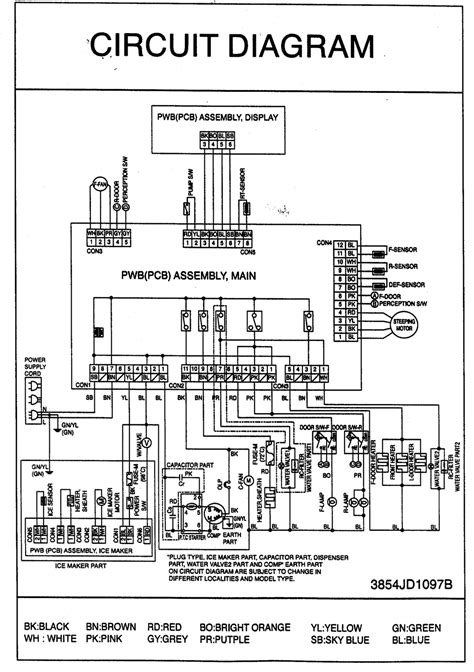 schematic for kenmore refrigerator get free image about