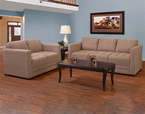 Buchannan Microfiber Sofa Brown Best Sofa Decoration American Furniture Living Room Sets