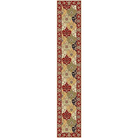 rug runners 2 x 14 safavieh lyndhurst multi 2 ft 3 in x 14 ft runner lnh320a 214 the home depot