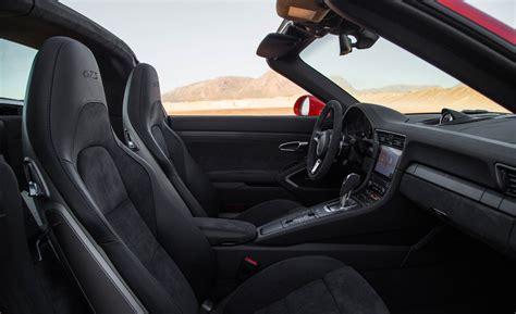porsche 911 gts interior 2017 porsche 911 targa 4 gts interior seats gallery photo