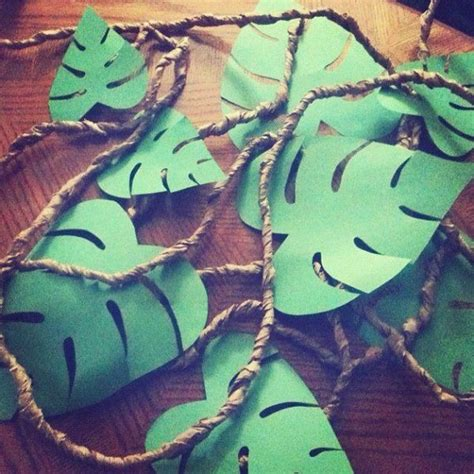 jungle themed decorations diy jungle decoration decalz mariejoy ras lockerz