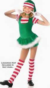 Holly jolly elf christmas holiday dress dance costume pageant child