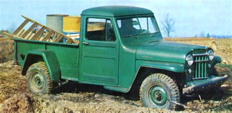 willys jeep truck green file 1956 willys jeep pickup jpg wikimedia commons