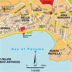 map of florida panama city map panama city panama maps and directions at map
