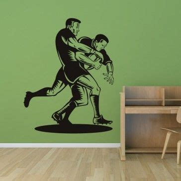 Tokomonster Gamer 4 Wall Decal Sticker Size 23 rugby tackle sports and hobbies wall decal wall stickers sports hobbies