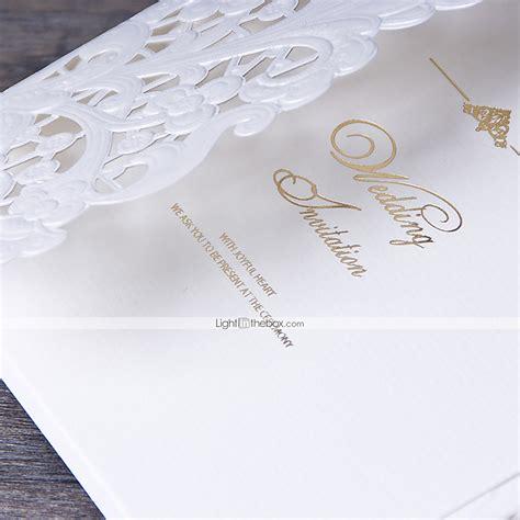 Tri Fold Invitation Paper - personalized tri fold wedding invitations invitation cards