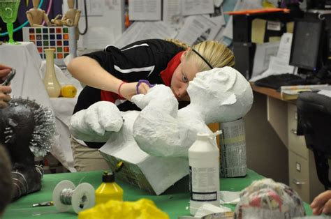 How To Make A Paper Mache Football Helmet - elgin schools 2013 8th grade paper mache