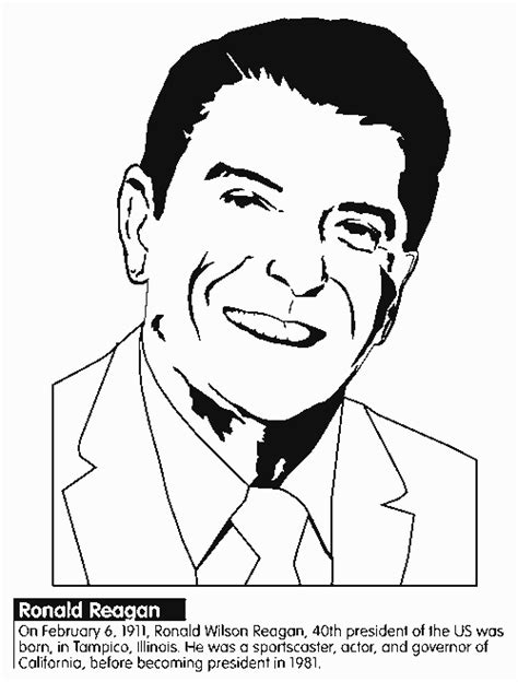 ronnie free colouring pages