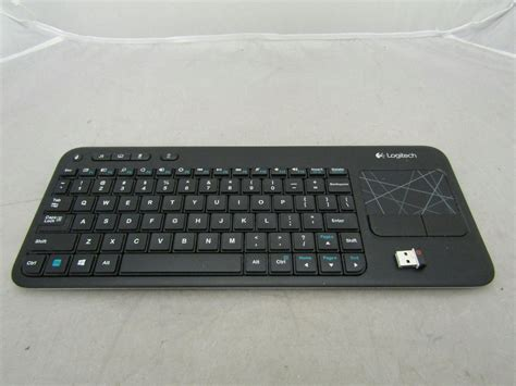 Logitech Wireless Keyboard K400r logitech wireless keyboard k400r with built in multi touch