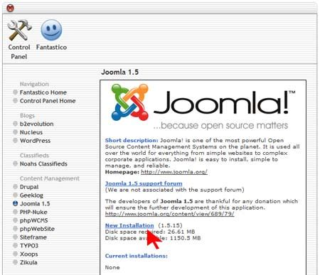 how to install template in cpanel how to install joomla through cpanel with fantastico