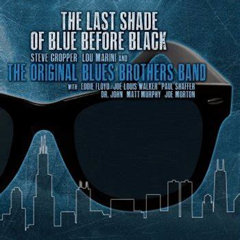 Cd B4u Band Before You united mutations the original blues brothers band the last shade of blue before black