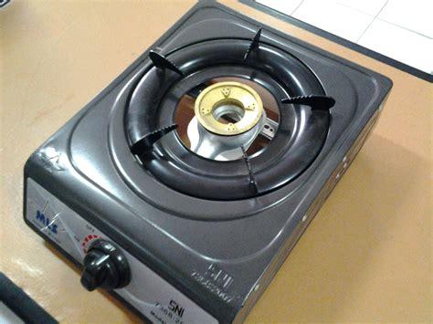 Kompor 1 Tungku Teflon tungku dapur gas desainrumahid