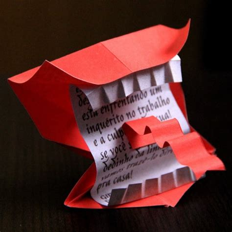 Origami Harry Potter - harry potter howler origami