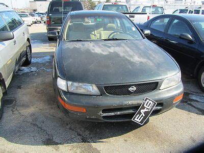 automotive air conditioning repair 1998 nissan maxima lane departure warning purchase used se 3 0l air conditioning dual air bags intermittent wipers no reserve in