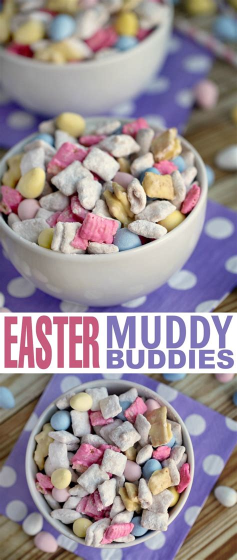 easter recipes easter muddy buddies frugal mom eh