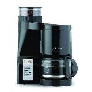 Capresso Coffee Grinder Reviews Capresso Coffeeteam S Coffeemaker Burr Grinder Combination