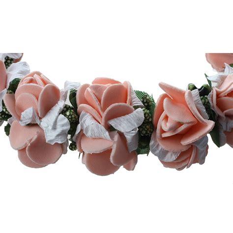fiore donna fascia capelli di fiore ghirlanda fiore da donna sposa con