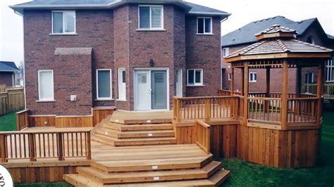 deck designs for split level homes wonderful deck designs for split level homes
