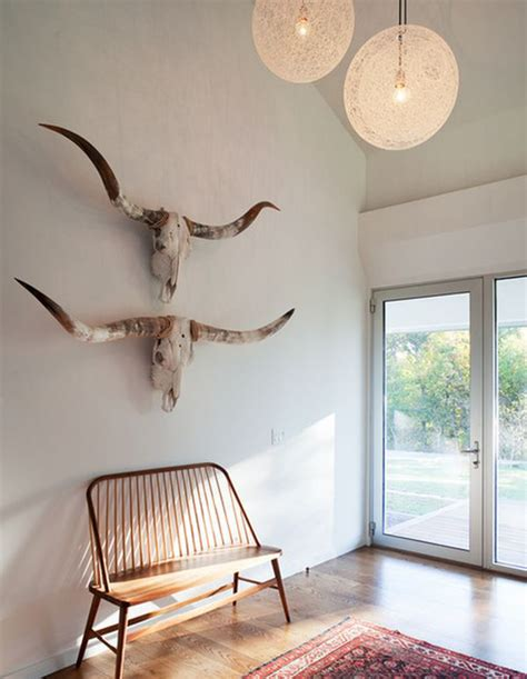 decorating ideas with a longhorn