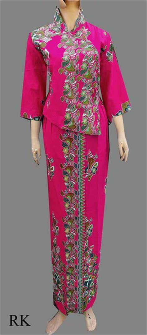Batik Rok Blus Azkana 5 jual model baju batik pramugari batik dress batik rok