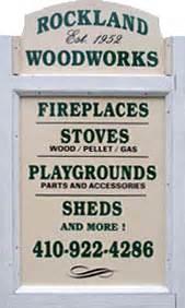 Rockland Woodworks Childrens Playground Equipment