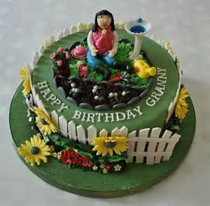 garten torte gardening cake