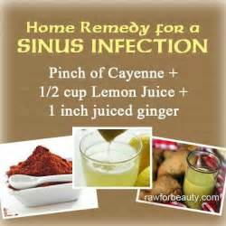 home remedies sinus infection sinus infection remedy remedies