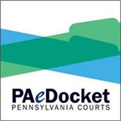 Pa Judiciary Court Search Paedocket Pennsylvania Courts Trademark Of Administrative Office Of Pennsylvania