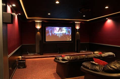 Home Theatre Decoration Ideas by Modern Home Theater Design Ideas