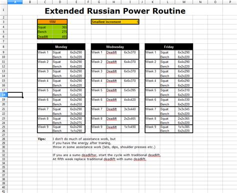 ed coan bench program pictures russian deadlift routine human anatomy diagram