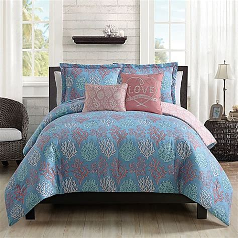 beach comforter set queen buy venice beach 5 piece full queen comforter set from bed