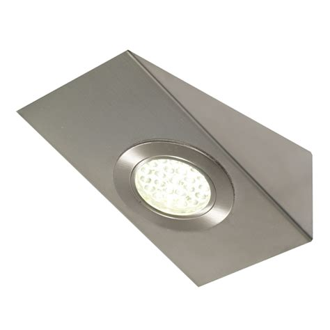 kitchen cabinet lights led corsica under cabinet high output led angled wedge light