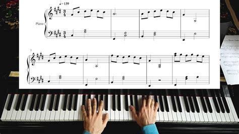 piano tutorial up theme la la land theme mia sebastian s easy piano tutorial