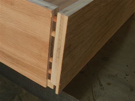 Drawer Construction Methods by How To Build Diy Drawers For Furniture Dowelmax