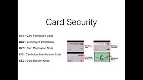 cvc on bank card card security ccv cvc cvv cid csc